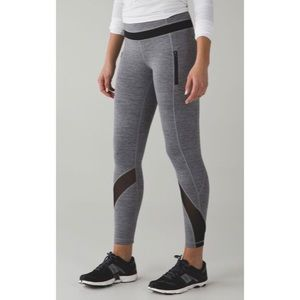 LULULEMON | Run Inspire II (Mesh) Leggings size 6